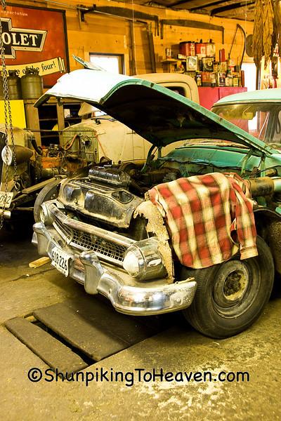 1955 Ford Customline, Filmore County, Minnesota