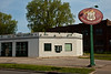 "Old Service Station ""Just Off Route 66"", Springfield, Illinois"