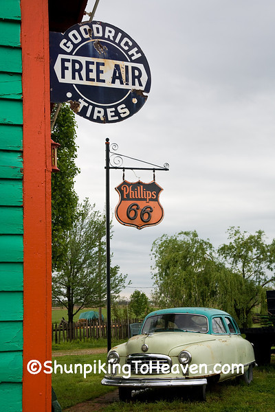 Phillips 66 Station, Red Oak II, Jasper County, Missouri
