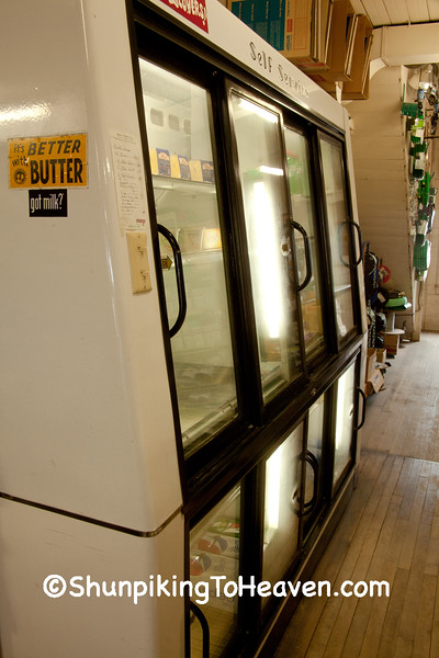 Coolers at Klinger Store, Bremer County, Iowa