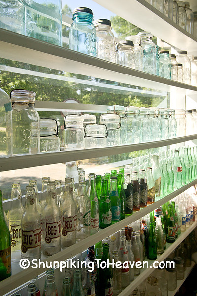 Antique Jars and Bottles, Chapel Hill, North Carolina