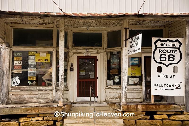 Whitehall Mercantile, Halltown, Lawrence County, Missouri