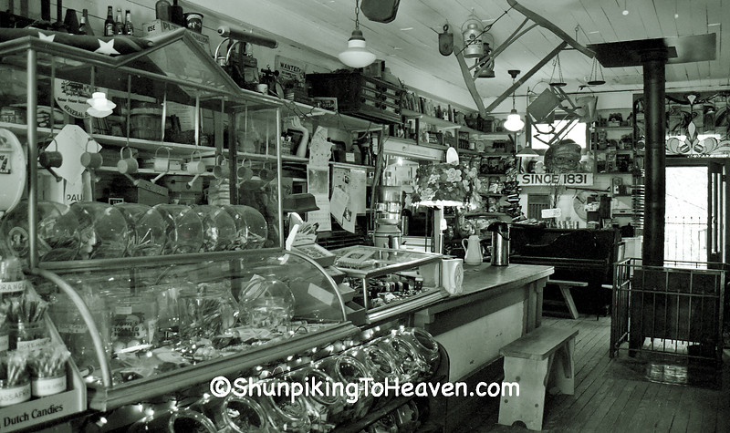 Inside the Rabbit Hash General Store, Boone County, Kentucky