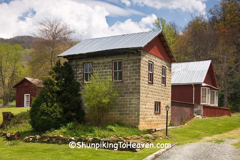 Cold Storage Building, Avery County, North Carolina