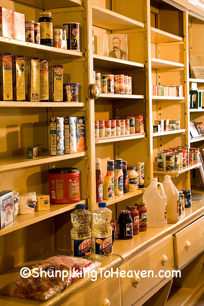 Shelves of Goods at The Fremont General Store, Winona County, Minnesota