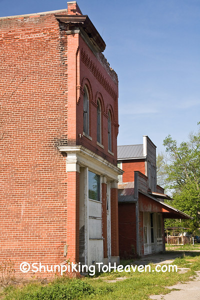 Old Store Buildings, Wells County, Indiana