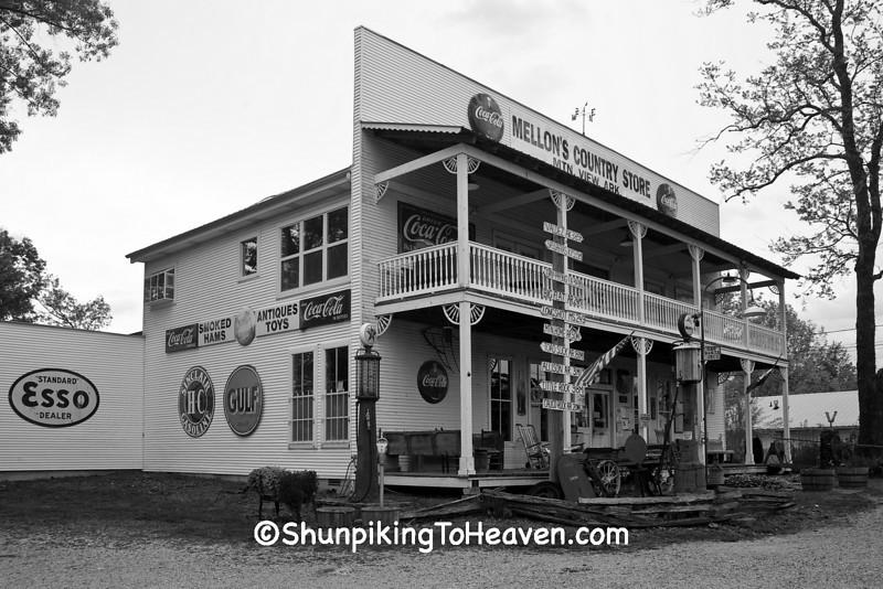 Mellon's Country Store, Stone County, Arkansas