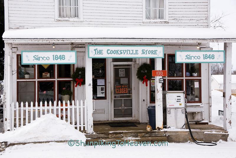 Cooksville General Store, Rock County, Wisconsin