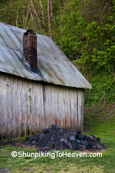 Coal Pile at Penn's Store, Casey County, Kentucky