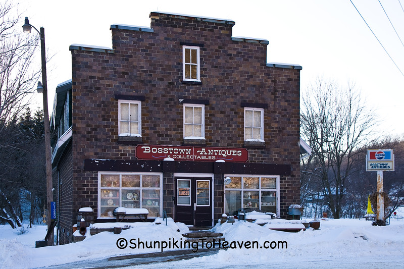 Bosstown Antiques, Richland County, Wisconsin