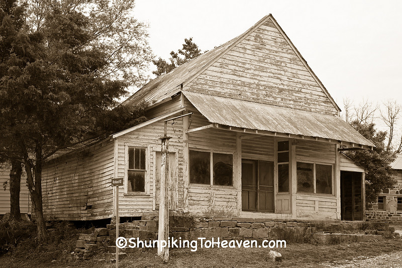 Abandoned General Store, Searcy County, Arkansas