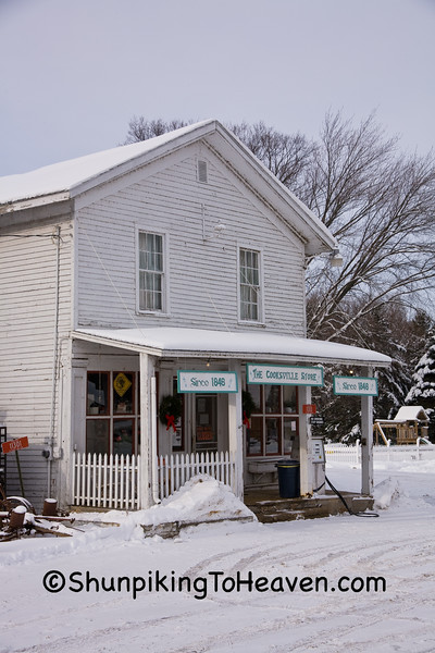 Cooksville General Store and Masonic Lodge, Rock County, Wisconsin
