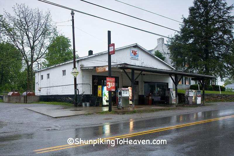 Gibson's Grocery, Poplar Plains, Fleming County, Kentucky