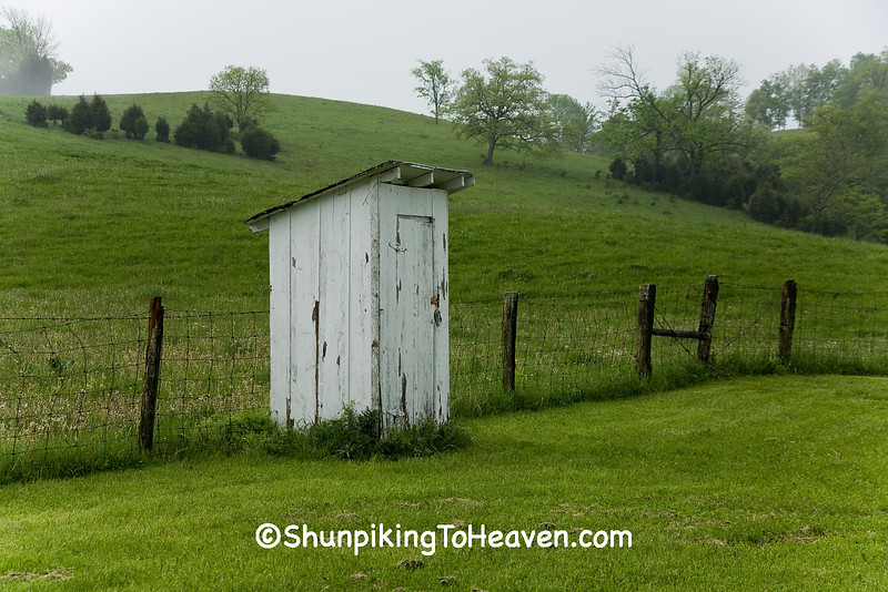Outhouse Behind Sunnyview Grocery, Fleming County, Kentucky