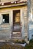 Lumber Building Door, Monroe County, Wisconsin