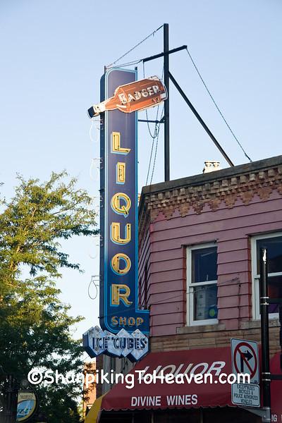 Liquor Store Sign, Madison, Wisconsin