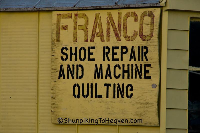 Franco Shoe Repair Shop, Madison, Wisconsin