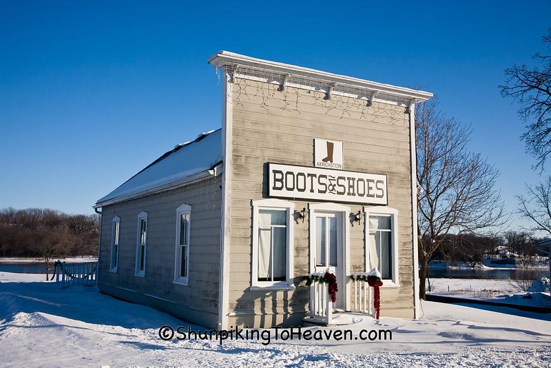 A. Kirchstein Boots & Shoes, Sauk County, Wisconsin