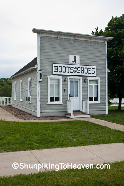 A. Kirchstein Boots & Shoes, Sauk County, Wisconsin