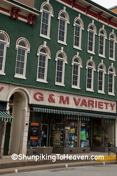 G&M Variety Store, Rockville, Indiana