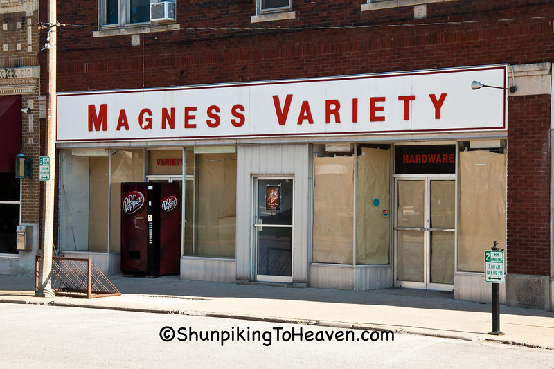 Magness Variety Store, Lawrence County, Illinois
