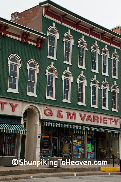 G&M Variety Store, Rockville, Indiana