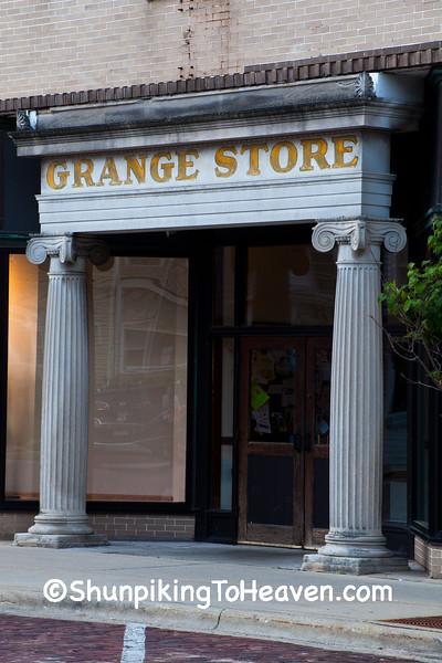 The Grange Store, Evansville, Wisconsin