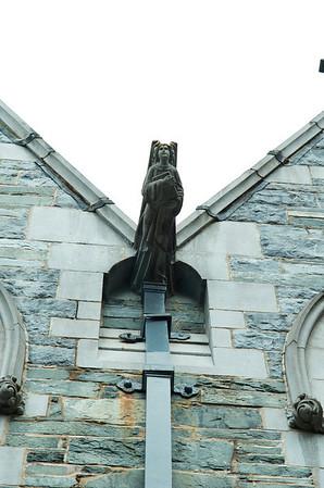 Gothic Church Kylemore Abbey Galway Ireland