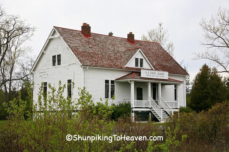 Sleeping Bear Point Life Saving Station, Glen Haven, Michigan