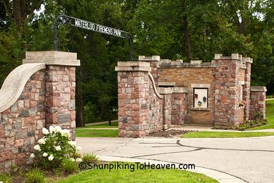 Firemen's Park Entrance, Waterloo, Wisconsin