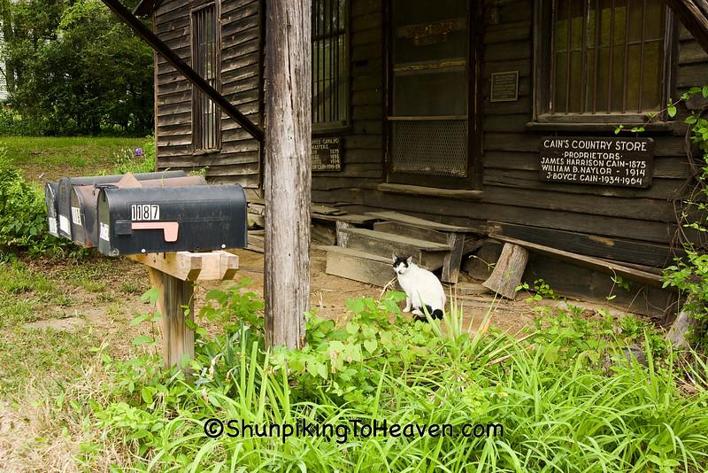 The Cana Store & Post Office, Davie County, North Carolina