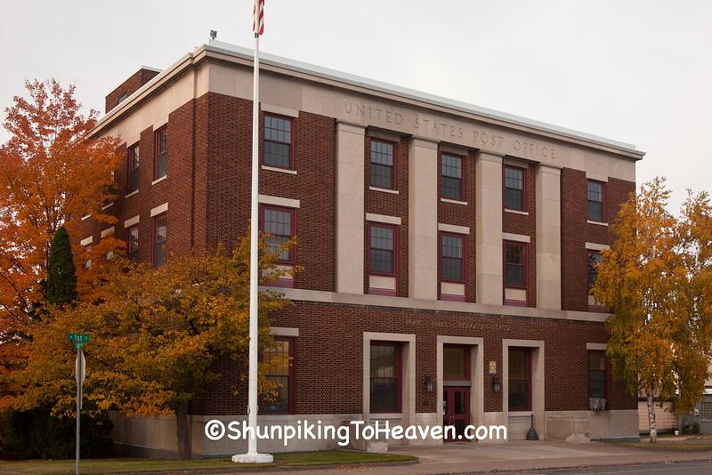 Park Falls Post Office, Park Falls, Wisconsin