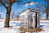 Double Outhouse at Town Hall, Columbia County, Wisconsin