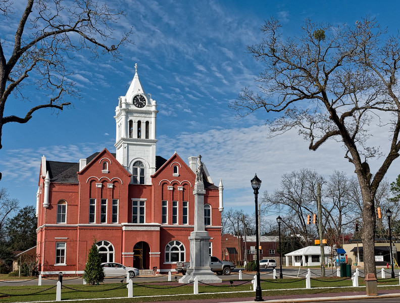 Schley County Courthouse in Ellaville