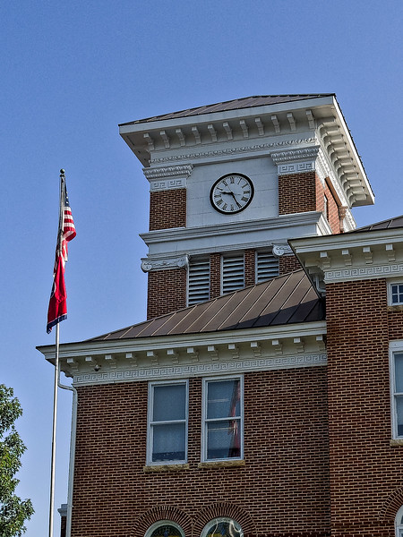 Monroe County Courthouse in Madisonville