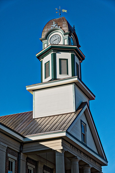 Clock Tower of Chatham County Courthouse