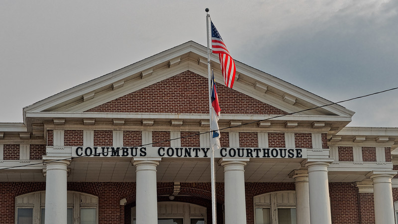 Columbus County North Carolina Courthouse