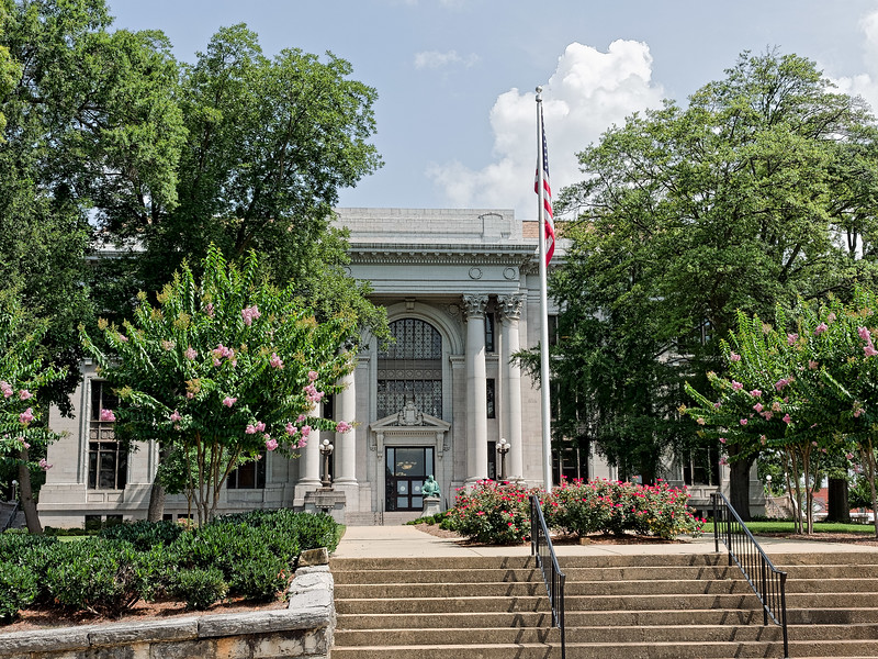 Chattanooga's Hamilton County Courthouse