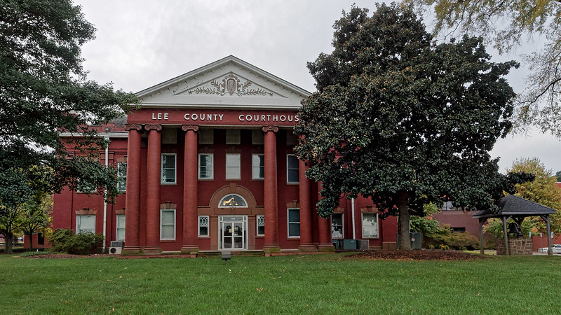 Lee County North Carolina Courthouse