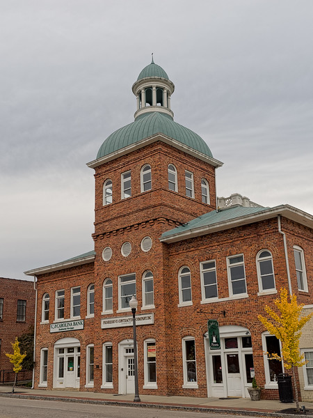 Old Sanford North Carolina City Hall