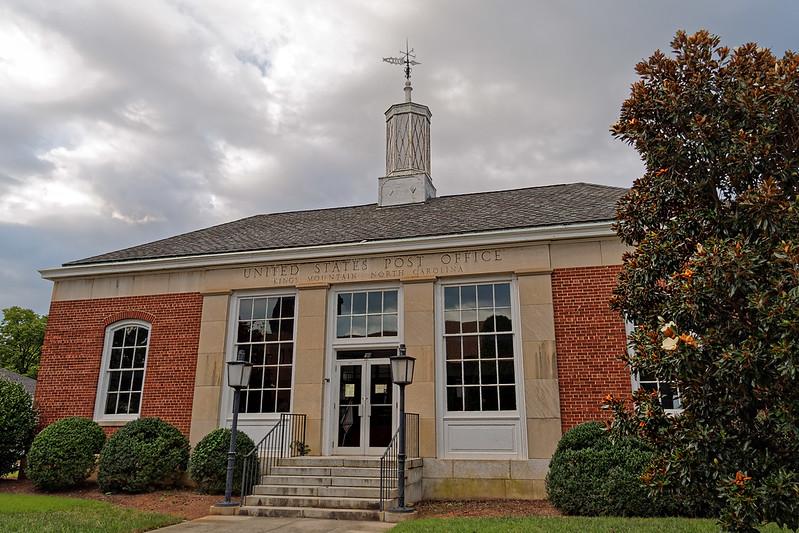 1940 Kings Mountain's Post Office