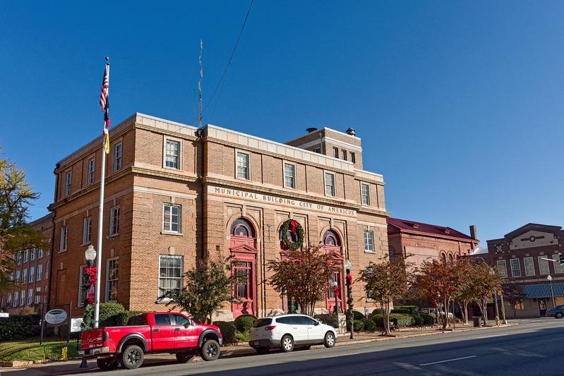 Americus 1910 U.S. Post Office