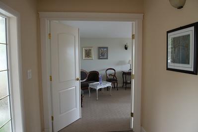 Bedroom doors from entry