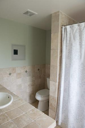 Master bath, demo area