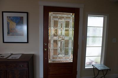 Front door/side window