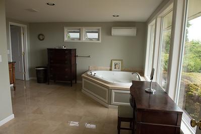 Front half of master bath