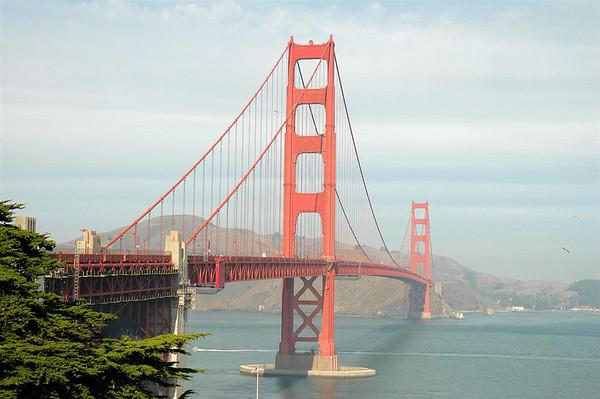 Golden Gate Bridge, San Francisco, CA