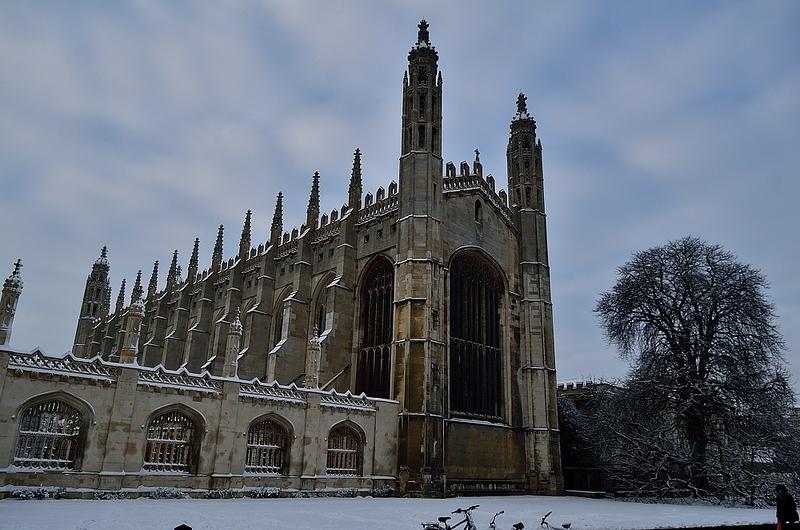 King's College Chapel in winter 2013, Cambridge