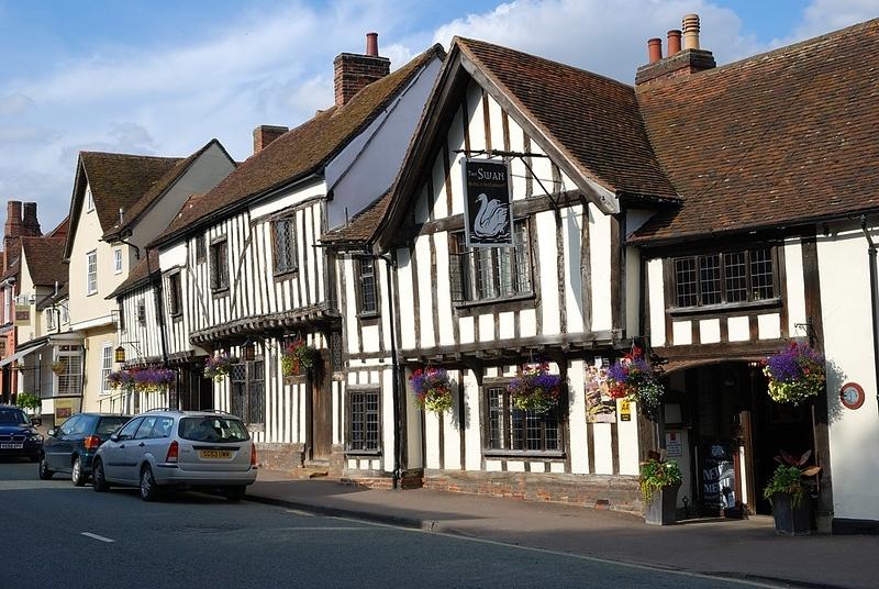 Medieval houses in Lavenham