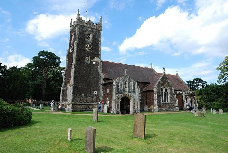 Church in area of Suffolk